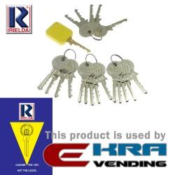 Комплект ключове 1+20 RIELDA Mod. 10/11/20