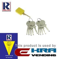 Key Kit 1+20 RIELDA Mod. 10/11