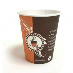 Paper cups Coffe design